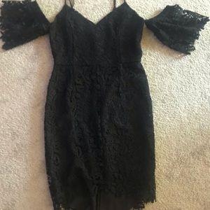 Dress size M - Black - Lace